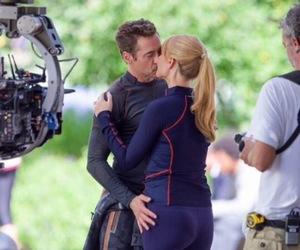 Avengers, boy, and kiss image