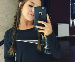 braid, instagram, and fitness image