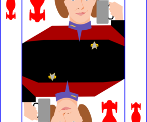 art, king of hearts, and star trek voyager image