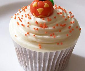 Halloween, autumn, and cupcake image