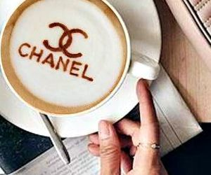 chanel, coffee, and cozy image