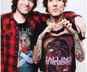 bring me the horizon, you me at six, and falling in reverse image