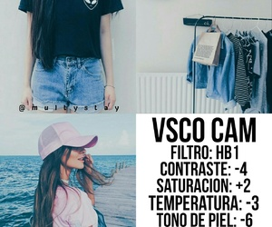 filters and vsco cam image