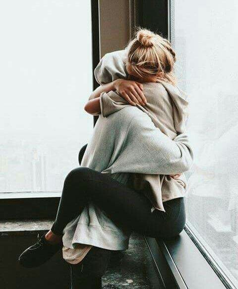 couple, love, and hug image