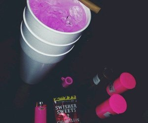 lean, pink, and blunt image
