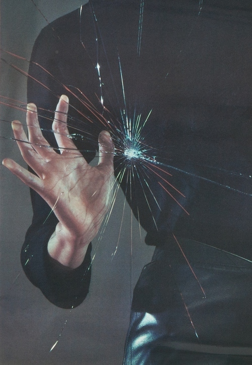 glass, hand, and photography image