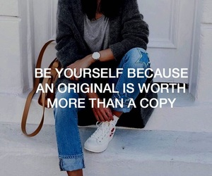 be yourself, boy, and people image
