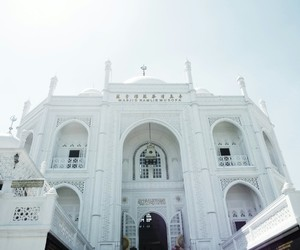 building, indonesia, and islam image