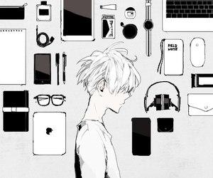 aesthetic, art, and art illustration image