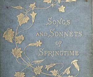 book, spring, and springtime image