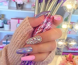 Brushes, nails, and style image