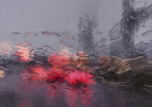 rain, light, and indie image