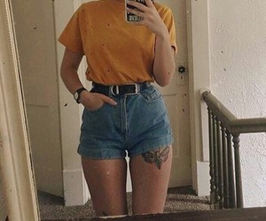 yellow, goals, and outfit image