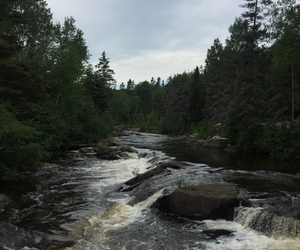 flowing, pretty, and river image