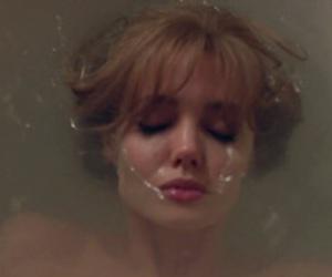 bath, cry, and sad image