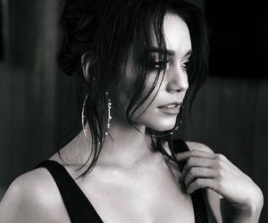 vanessa hudgens and black and white image
