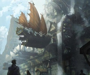 fantasy and steampunk image