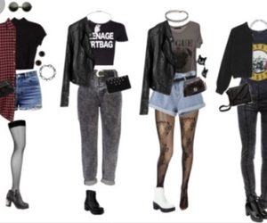 grunge, internet, and outfits image