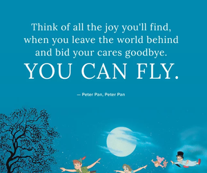 disney, quotes, and peter pan image