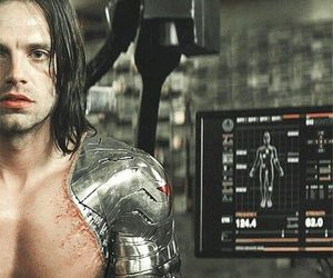 bucky barnes, sebastian stan, and winter soldier image