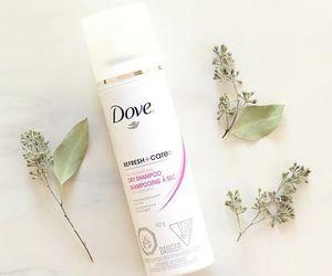 beauty, dove, and dry shampoo image