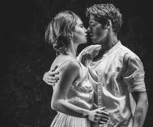 lily james, richard madden, and romeo and juliet image