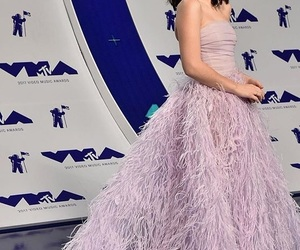 awards, pink dress, and pretty image