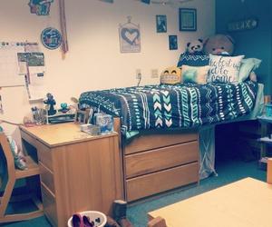 college, decor, and dorm image
