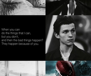 spiderman, peter parker, and wattpad image