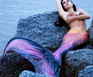 fantasy, mermaid, and scales image