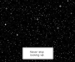 stars, gif, and sky image