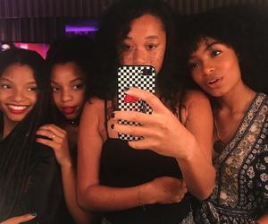 girls, melanin, and instagram image