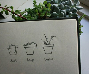 plants, grunge, and tumblr image