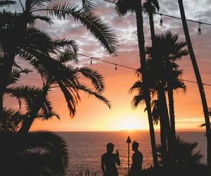 sunset, grayson dolan, and ethan dolan image