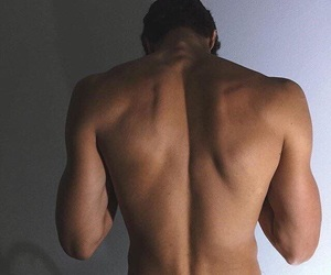 guy, Hot, and back image
