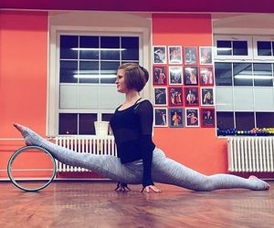 flexibility, stretching, and wheel image
