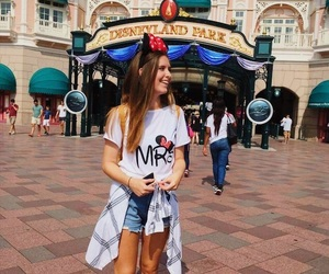 disney, minnie ears, and girl image