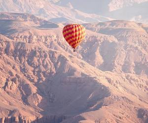 africa, balloons, and valley image