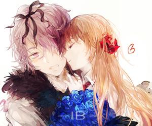 anime, anime couple, and ib image