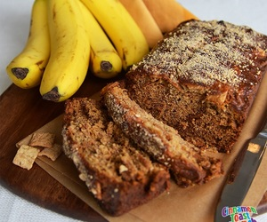 banana, cereal, and Cinnamon image