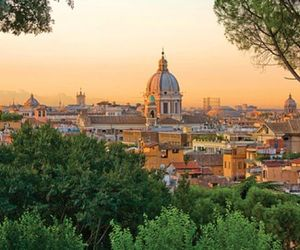 rome and janiculum hill image