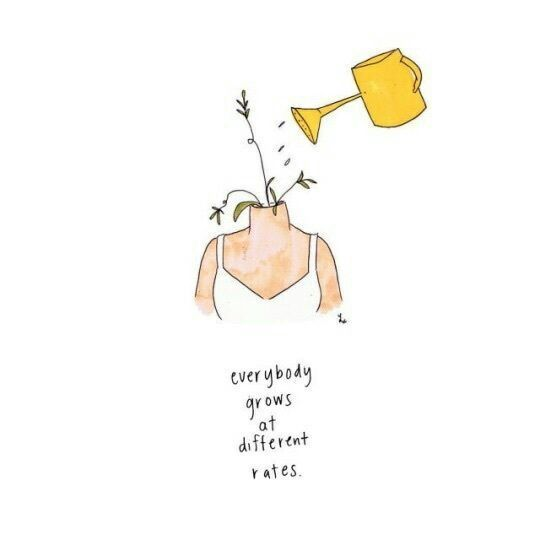 quotes, grow, and flowers image
