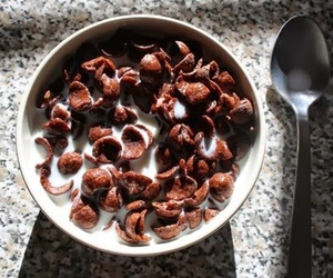cereal, chocolate, and food image