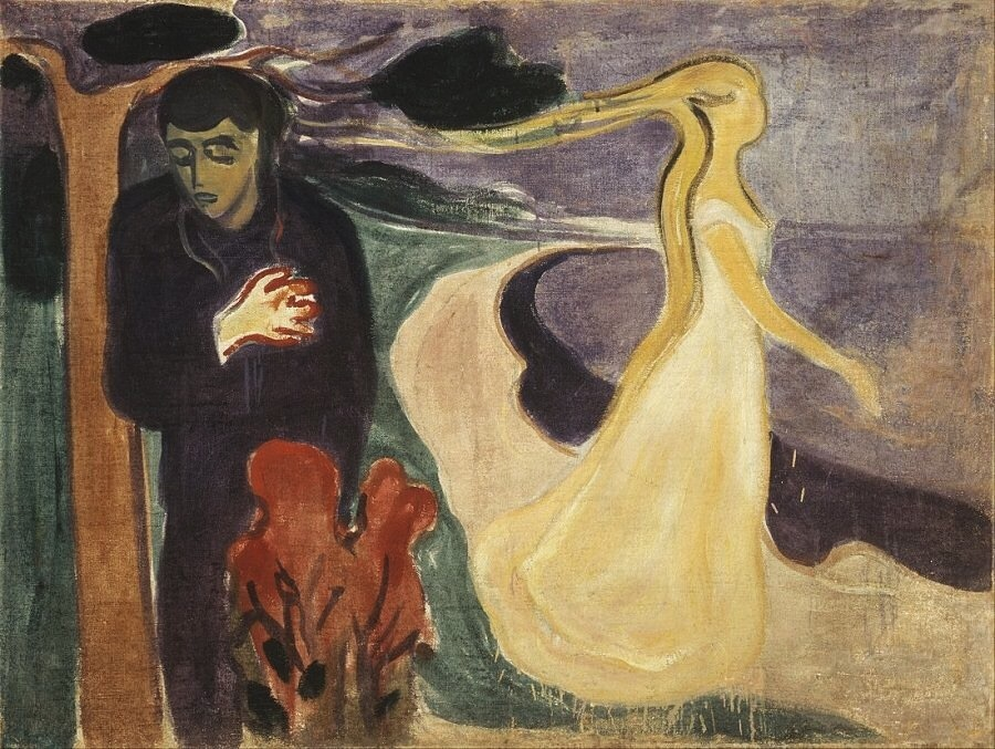 art, munch, and separation image