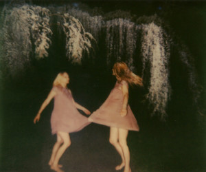 asheville, dancing, and doubleexposure image