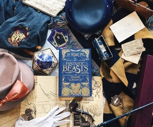 book, aesthetic, and harry potter image