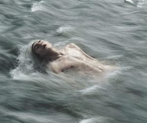 blue sea, choke, and sea image