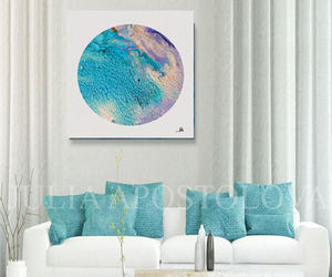 canvas, circle, and etsy image