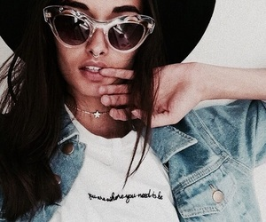 fab, gorgeous, and sunglasses image