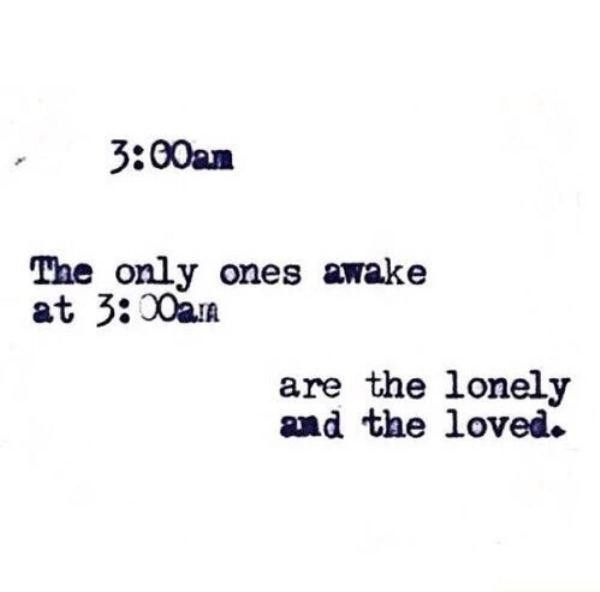 lonely, quote, and love image
